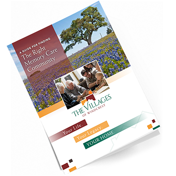 Download our free Fredericksburg Memory Care Community Guide. It's full of helpful information and tips on selecting the best community.