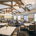Enjoy chef-prepared meals at our beautiful main dining room.